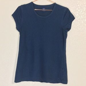 Patagonia | Women's Blue Basic Tee | Size Medium